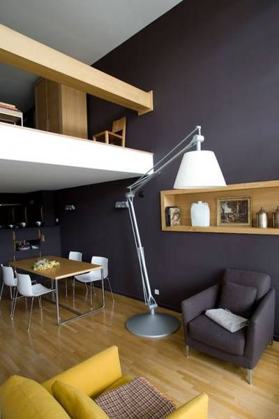 la cit radieuse le corbusier couleurs murs. Black Bedroom Furniture Sets. Home Design Ideas