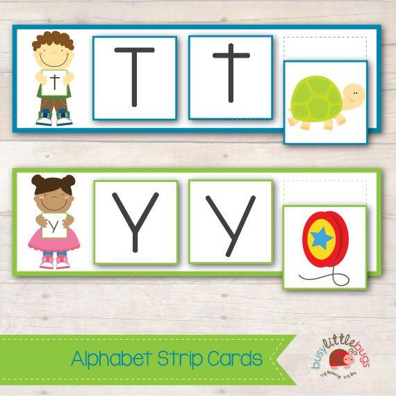 Alphabet Charts / Alphabet Strips - Page 3 - Free Teaching