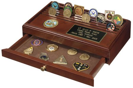 Challenge Coin Display- I want this one!   Whatever