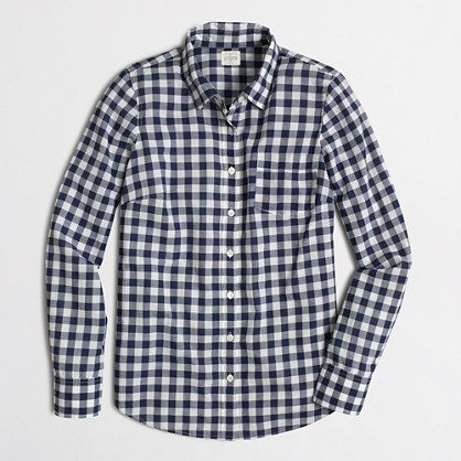 4fdd2683955 Classic button-down shirt in gingham