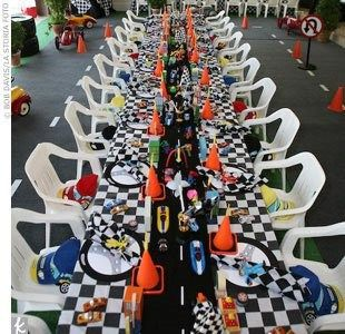 Image result for race car party table