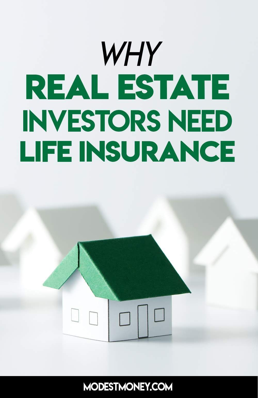 Why Real Estate Investors Need Life Insurance With Images Life Insurance Beneficiary Real Estate Investor Life Insurance