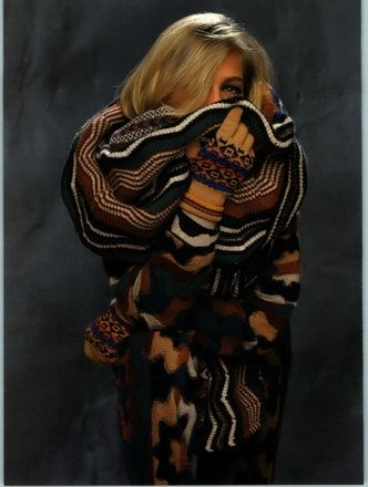 All wrapped up.  Missoni 1991