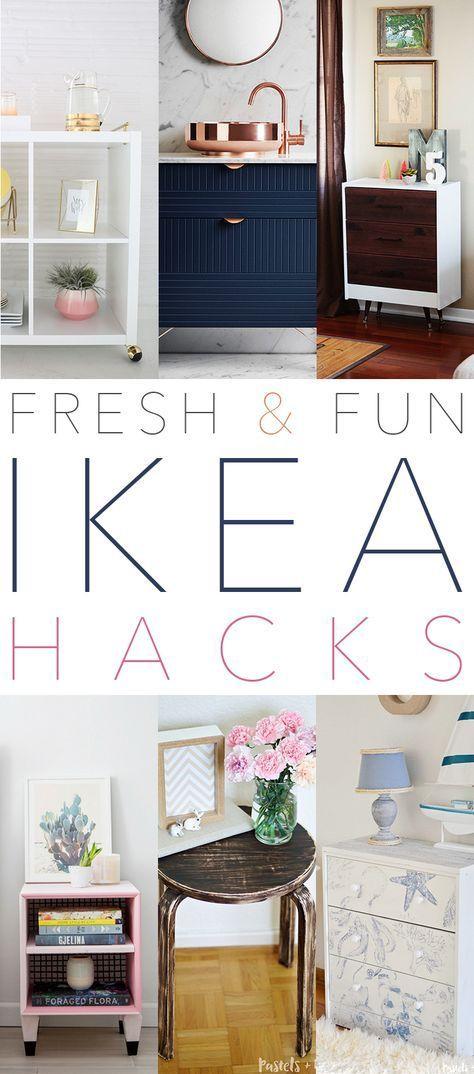 Fresh and Fun IKEA Hacks   DIY Furniture Ideas   Ikea