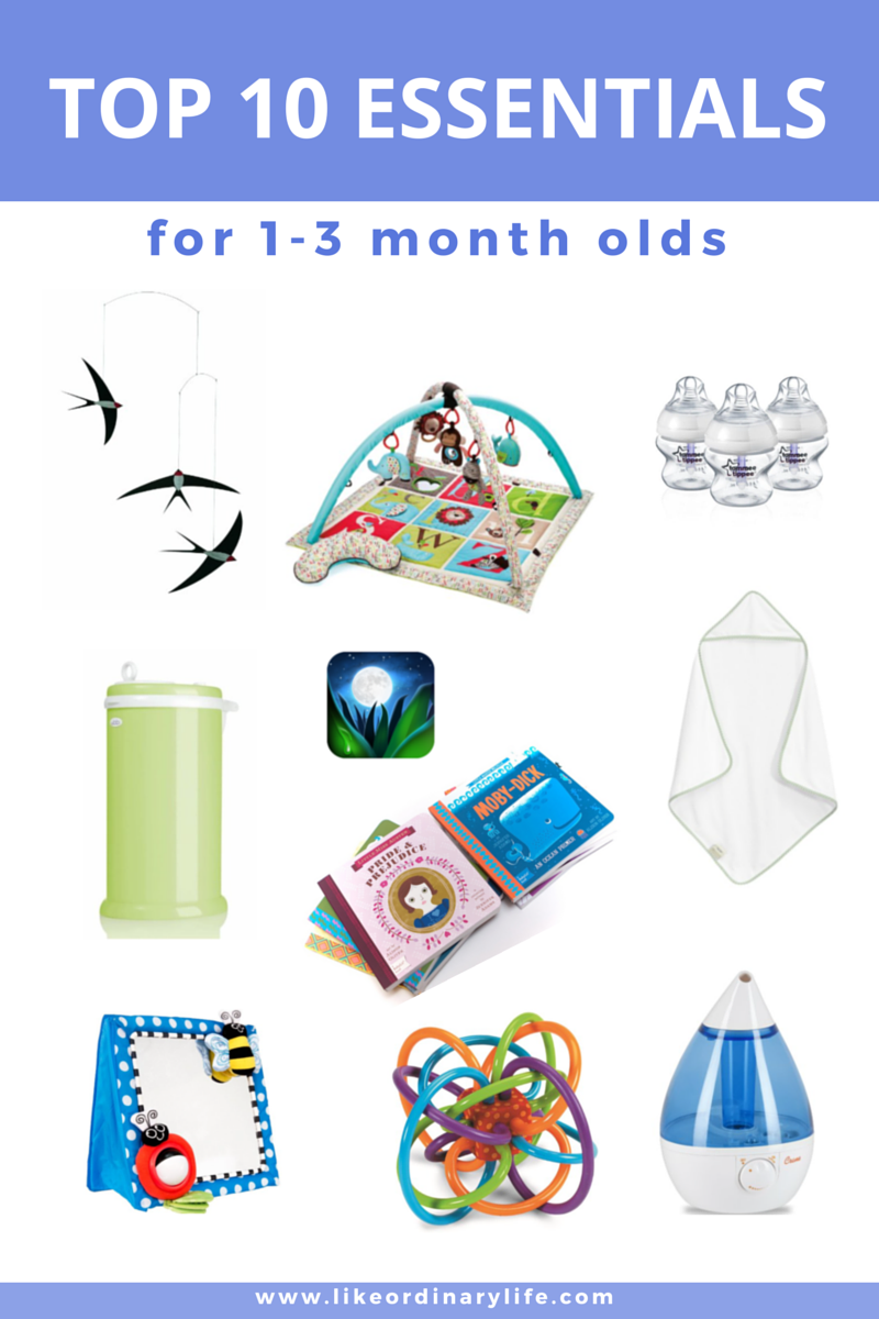Essentials For Your 1 3 Month Old Baby Like Ordinary Life Toys