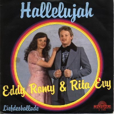 "Eddy Romy & Rita Evy - ""Hallelujah"", dutch version of the winning song from the Eurovision Song Contest 1979 by Gali Atari with Milk & Honey for Israel"