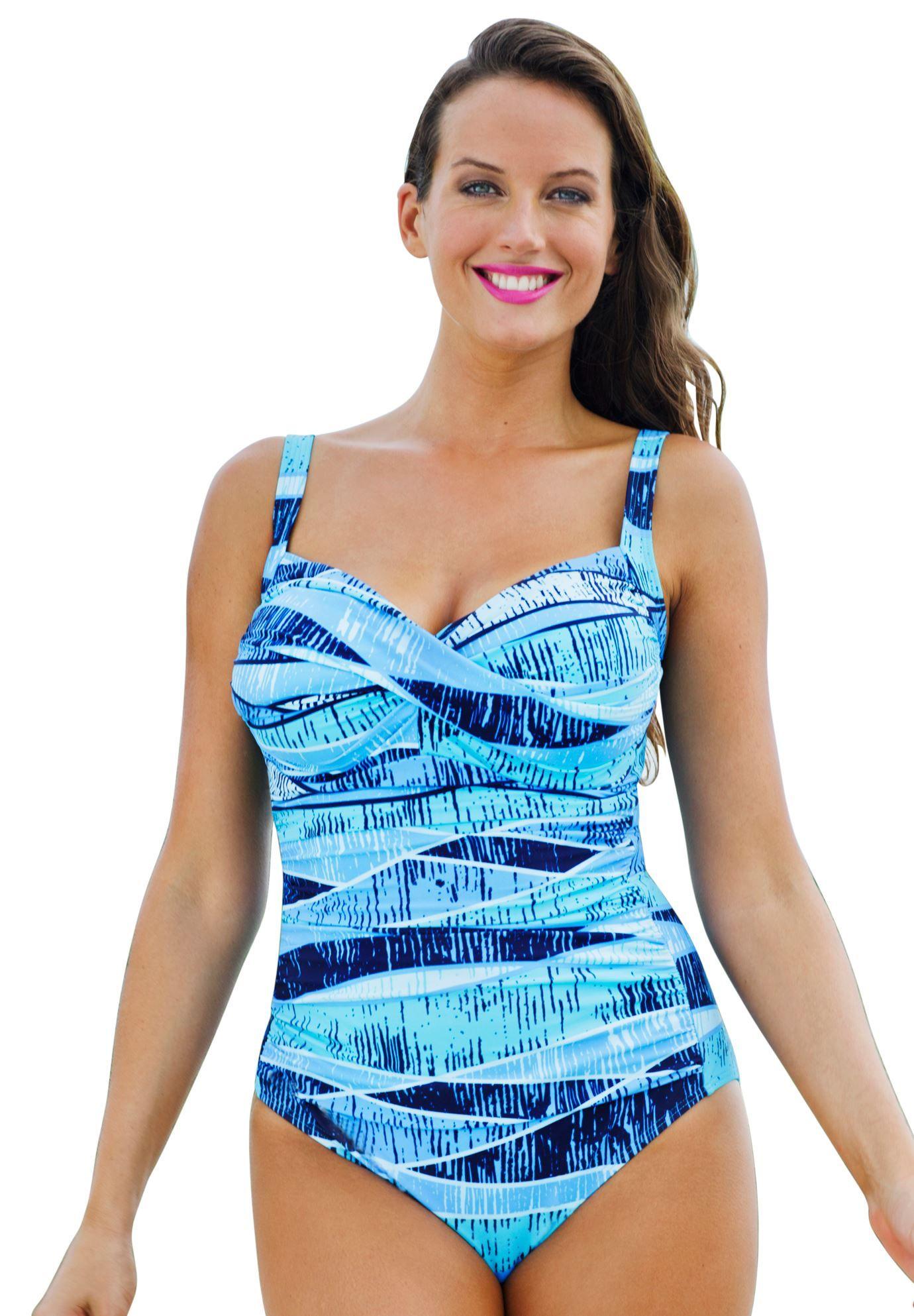 a9e0388a757 Shore Club Blue Crush Twist Front Mio