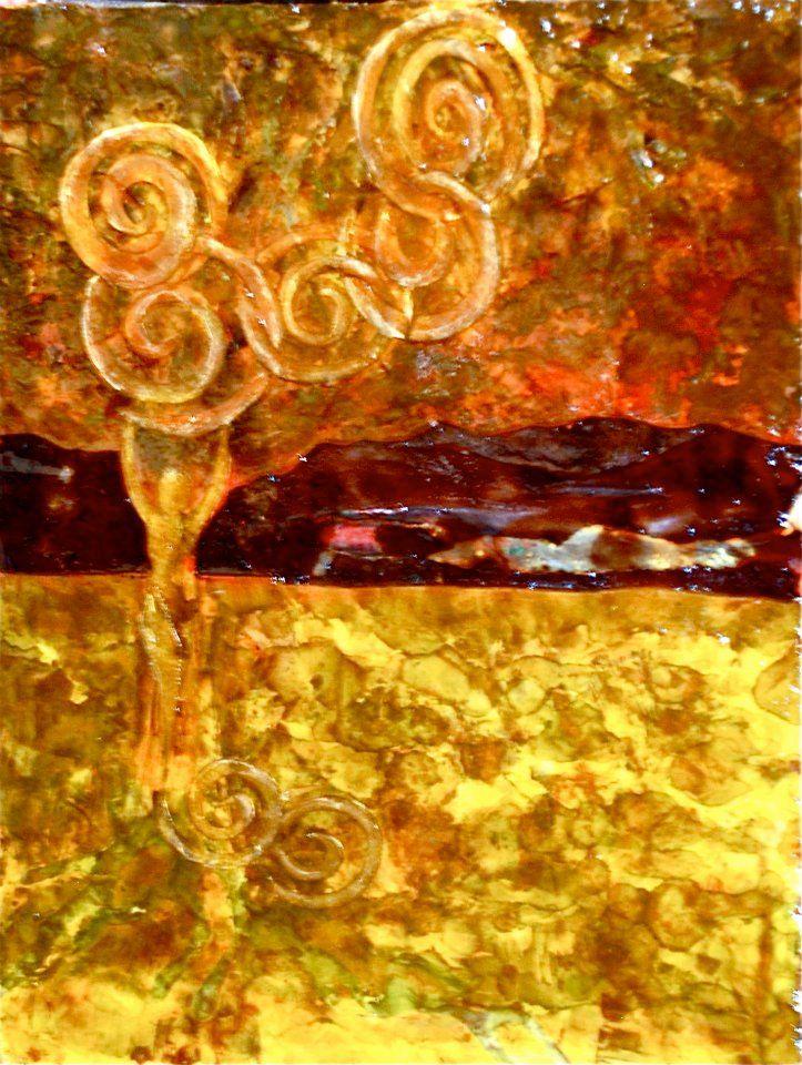 Untitled mixed medium art by Denise Cameron Nelson