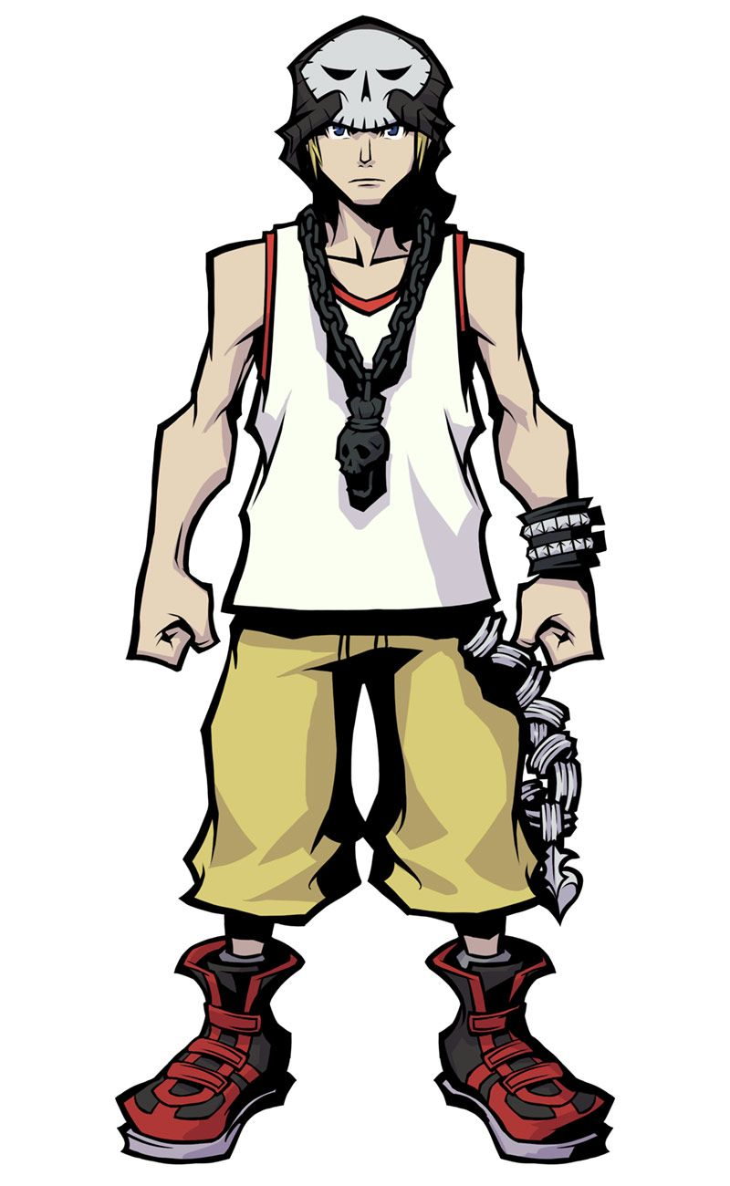 Beat From The World Ends With You Final Remix End Of The World Concept Art Characters Character Design Inspiration