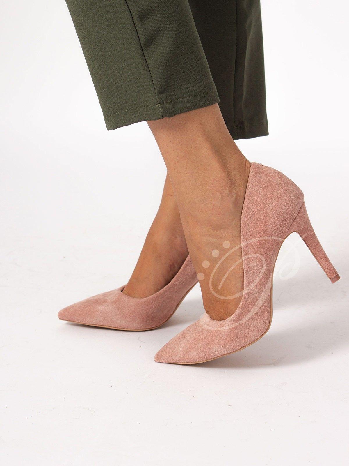 edb40c44 Stiletto Ara Nude - Zapato de salón en antelina de color nude . Tacón de  unos