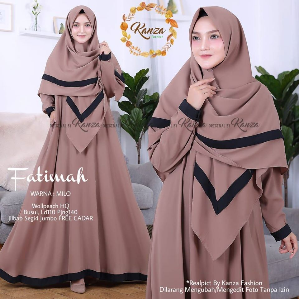 Terbaik Wa 0838 6568 9730 Gamis Muslimah Cantik Gaya Busana Pemotretan Hijab