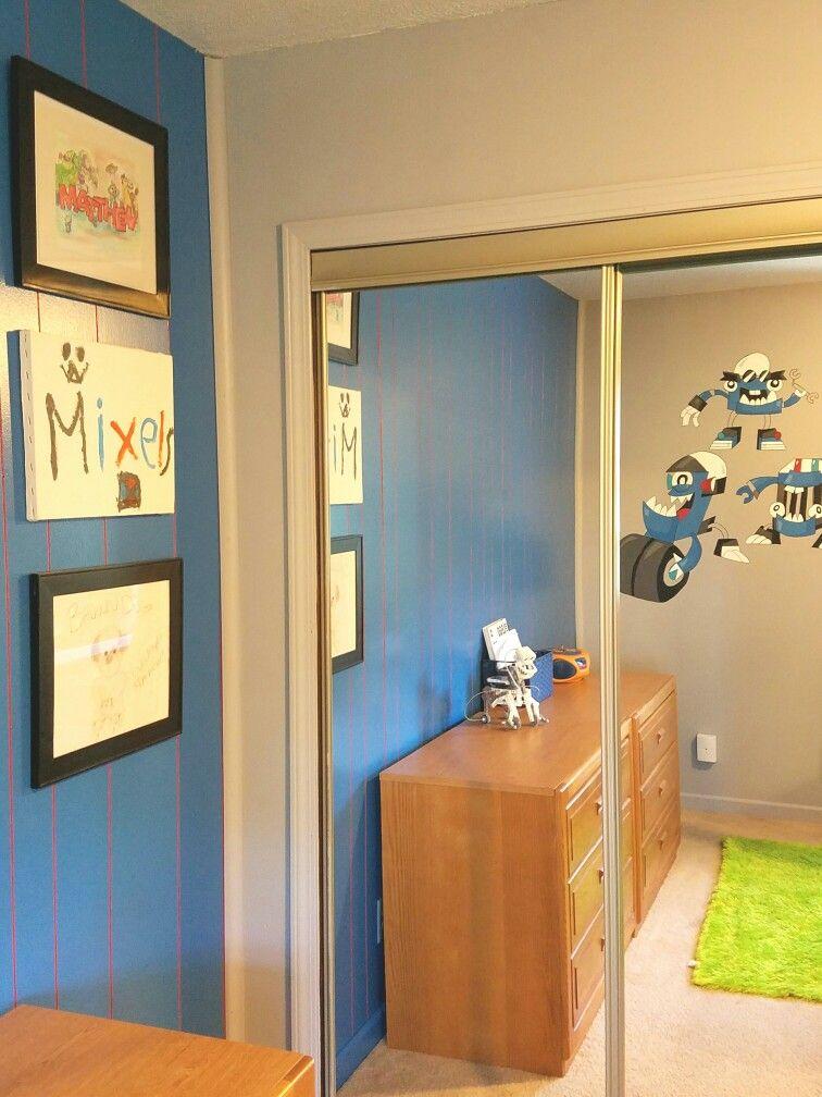 Matthew's Lego room
