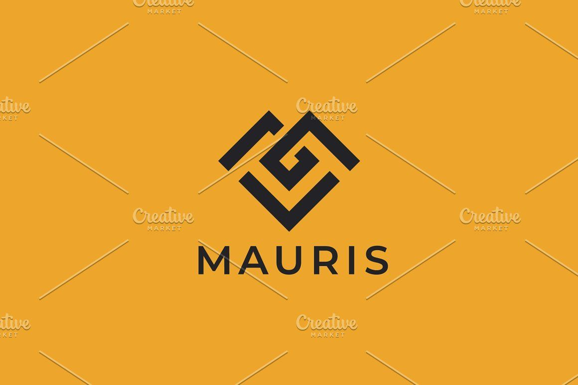 Modern Geometric Letter M Alphabet Typography Heart Shape Initial Branding Illustration Business Marketing Sym Corporate Logo Design Logo Design Corporate Logo