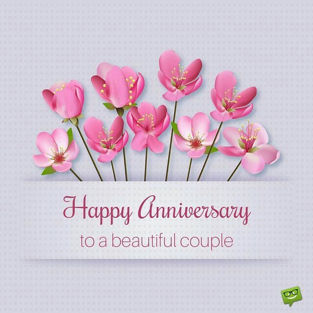 To A Beautiful Couple 2nd Wedding Anniversary Happy Anniversary Wishes Anniversary Wishes Message