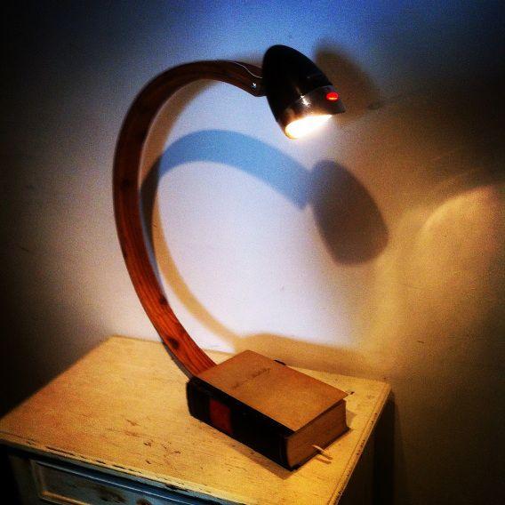 DYI Lamp, Fahrradlampe, Books, Buch, Legalight it