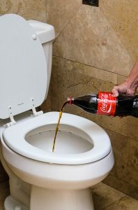 Clean Your Toilet With Coke With Images Hard Water