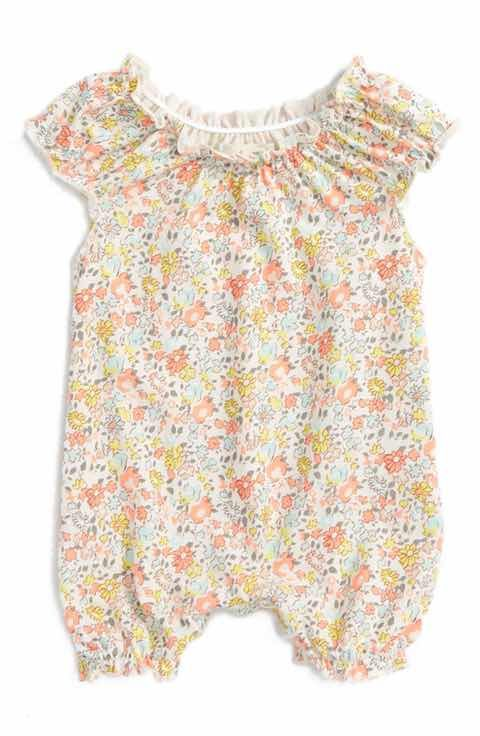 68703cadbc2 Peek Floral Ditsy Bubble Romper (Baby Girls)