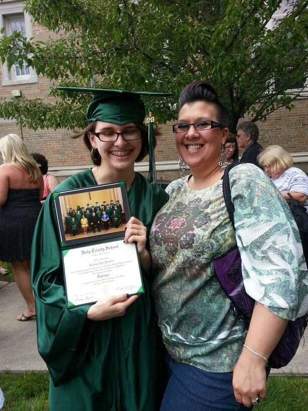 Jasmine's 8th grade graduation