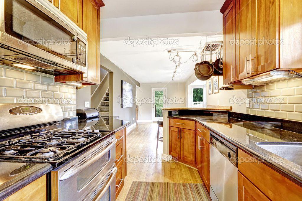 encimeras granito marron - Buscar con Google | Casas rústicas ...
