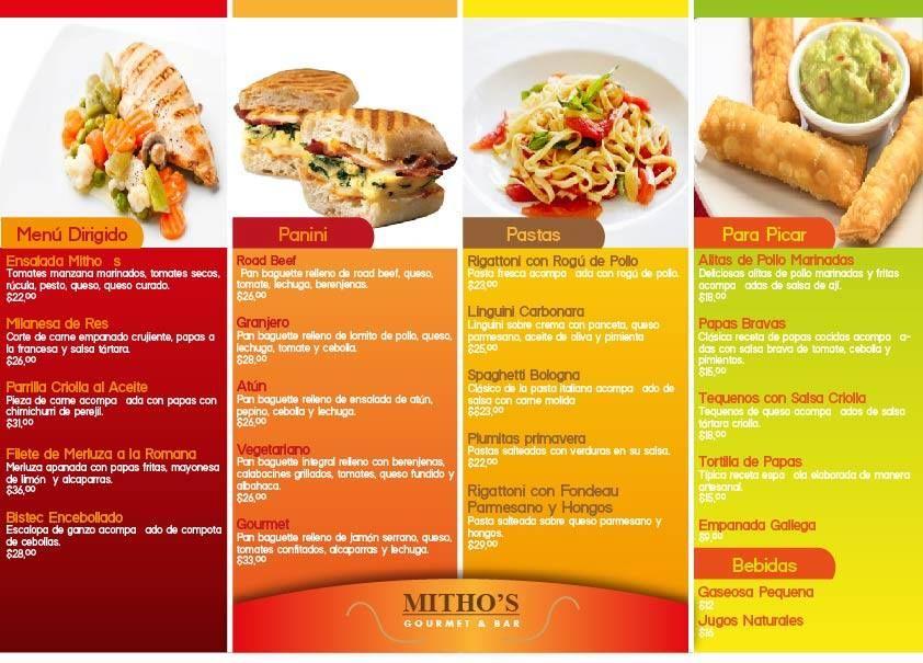 Armado de folleto para delivery de comidas autor ludmila for Ideas cocina rapida