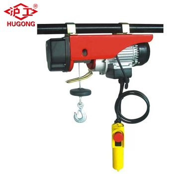 1 Ton Micro Electric Wire Rope Cable Hoist/block/winch Frame - Buy 1 ...