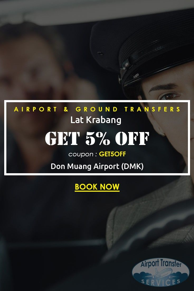 Transfers from Don Muang Airport (DMK) to Lat Krabang starting from ฿ 1,350.00 #DonMuangAirport #DonMuangAirporttransfers #LatKrabang