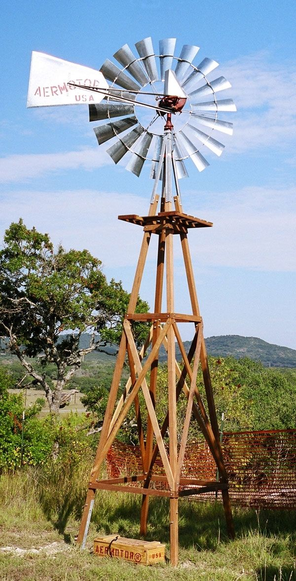 Aermotor Windmill Company Inc Economical Energy Wind Water Pump Wooden Towers Get Off That