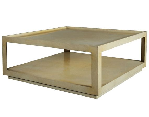 Karl Springer Coffee Table   Donna Livingston Design