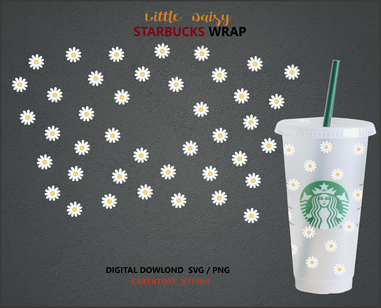 Daisy Svg PNG cut file Starbucks Daisy svg png File for DIY projects Daisy Svg Png for DIY Projects