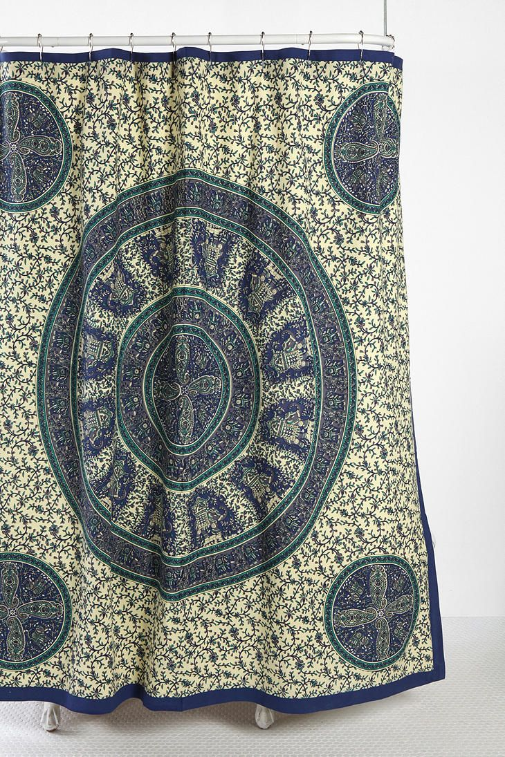 Elephant Tapestry Shower Curtain Elephant Tapestry Tapestry