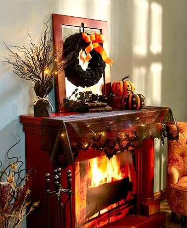 The Twilight Halloween Decor Collection creates a cohesive display - halloween decor images