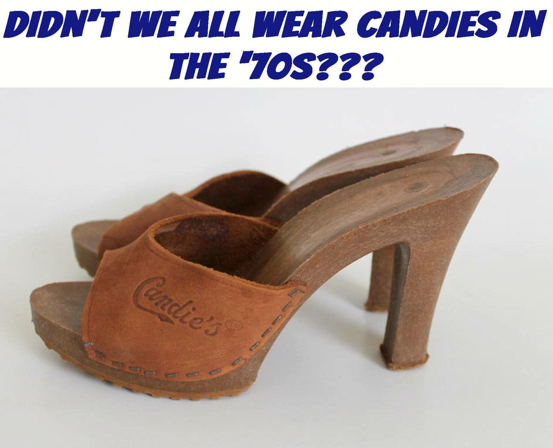 0c717998f5f4 Vintage Platform Shoes   Platform Sandals   Wooden Heels   Candies I ...