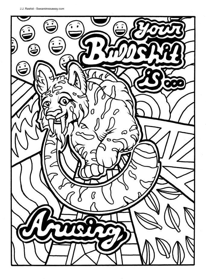 Pin de Joleen Fenske en Swear word coloring   Pinterest