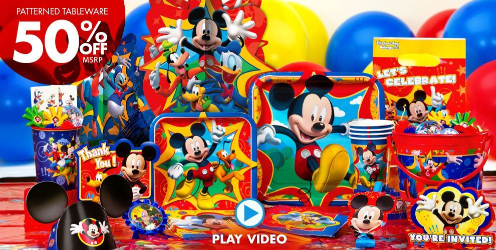 Pin On Mickey Mouse Bday