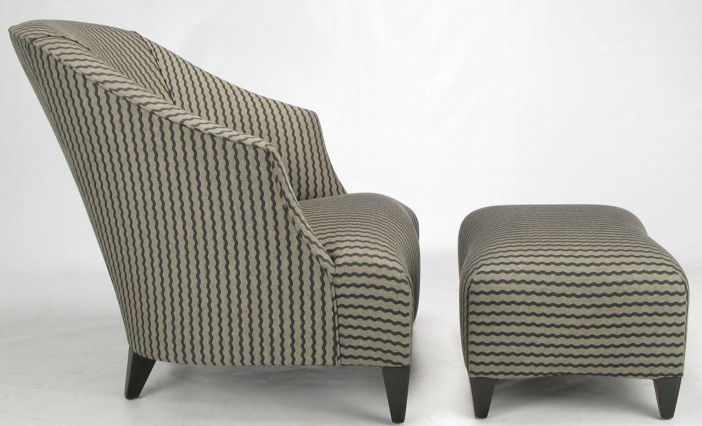 Donghia mobili ~ Donghia lounge chair matching ottoman by john hutton ottomans