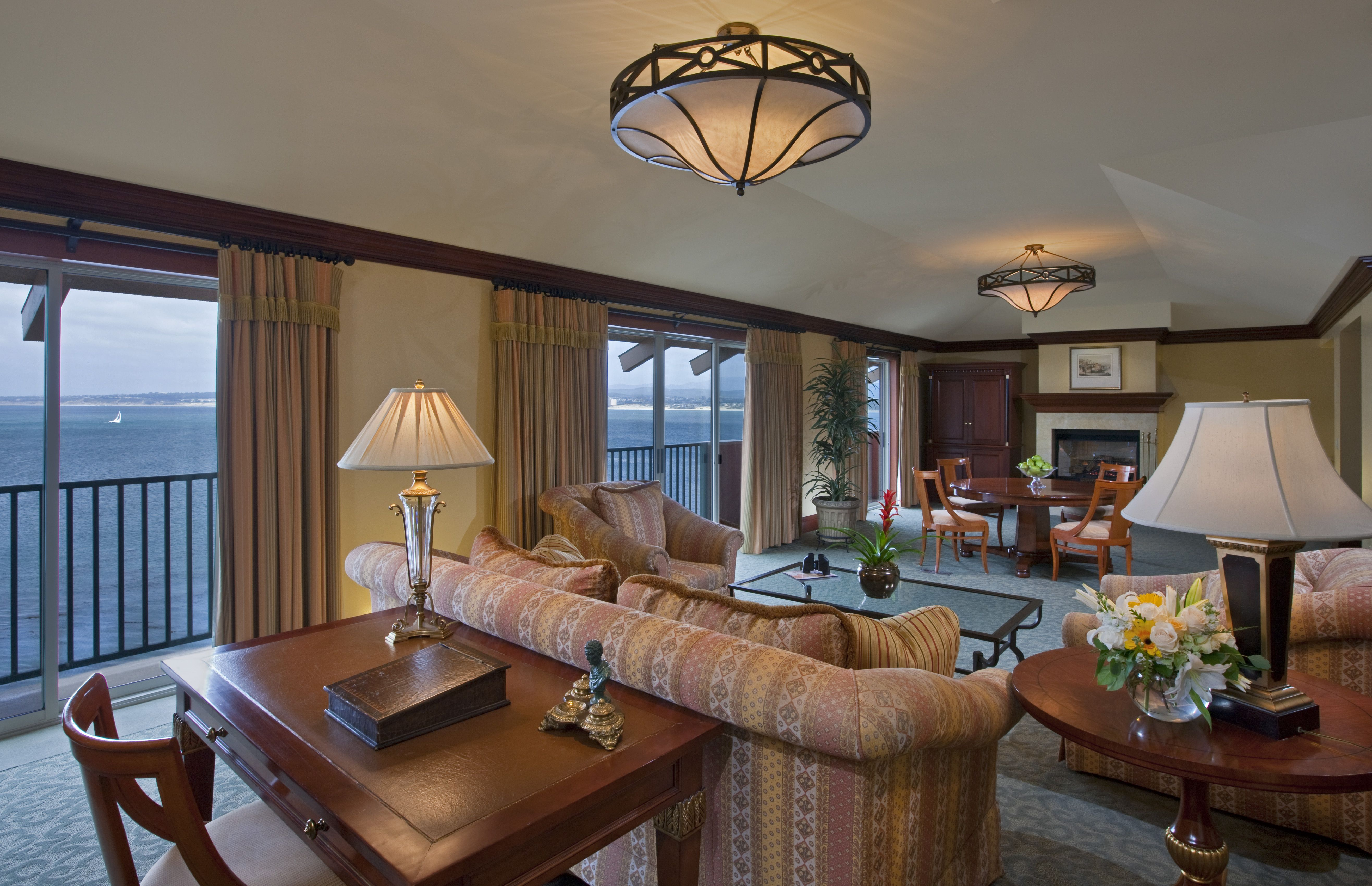 Presidential Suite Angle 2 At Monterey Plaza Hotel
