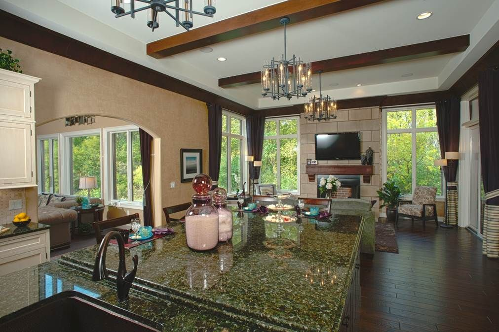 The Ellsworth Kitchen View By Cranbrook Custom Homes