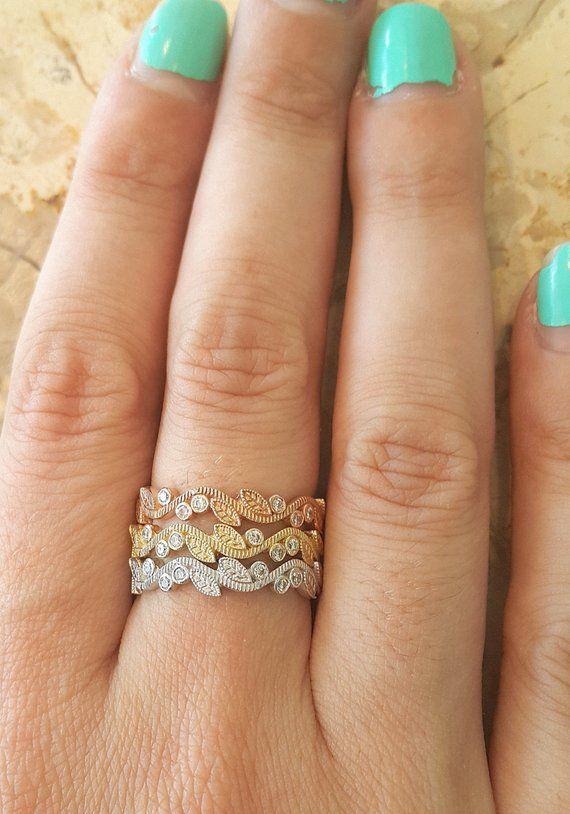 Leaf Engagement Rings 20f348326
