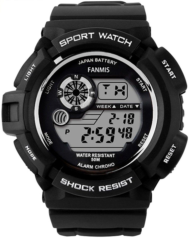 Fanmis SShock Multi Function Digital LED Quartz Watch