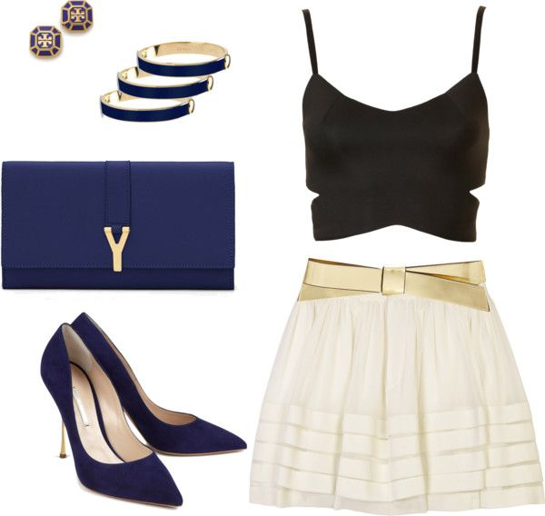 """TGIF!! let's go out!!!!"" by mara-montandon ❤ liked on Polyvore"