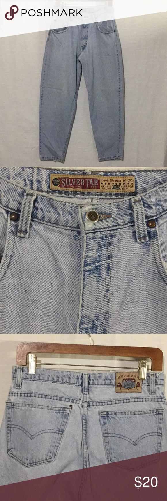 Levi\u2019s Vintage Silvertab Button Down Size Large