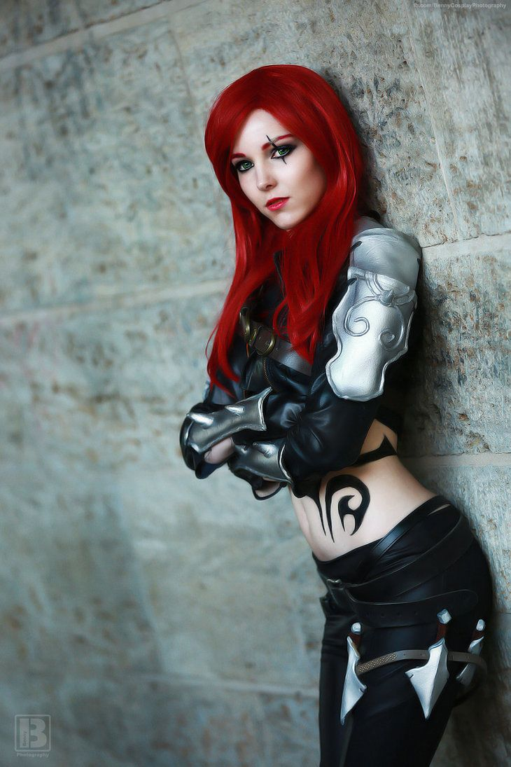 Game: League of Legends Charakter: Katarina Cosplay ...
