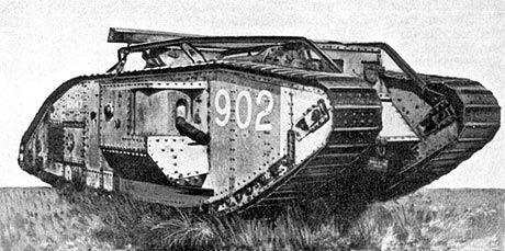 Verdens første tank blev brugt i 1. verdenskrig. - Nancy & Hanna | 1.verdenskrig 8A MKF