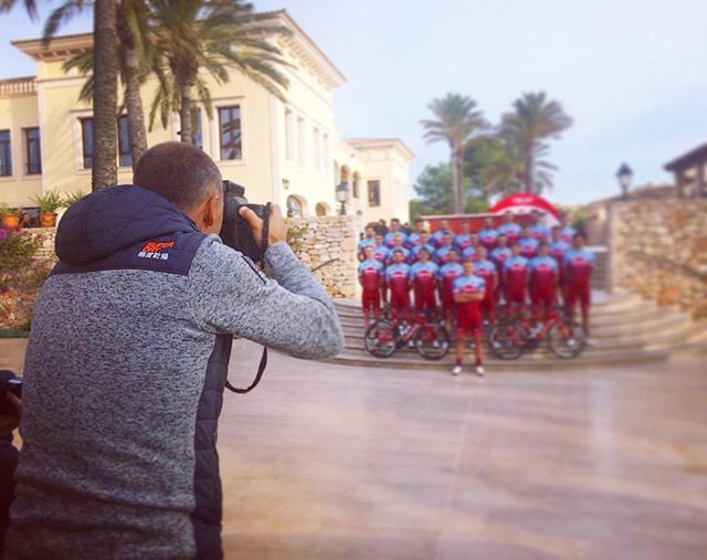 source instagram tdwsport  That time of the year again - part 1 @katushacycling @katushasports @tdwsport #TDWatwork #photographer #cycling #2018 @robinsonclub #mallorca #spain  tdwsport  2017/12/11 03:07:21