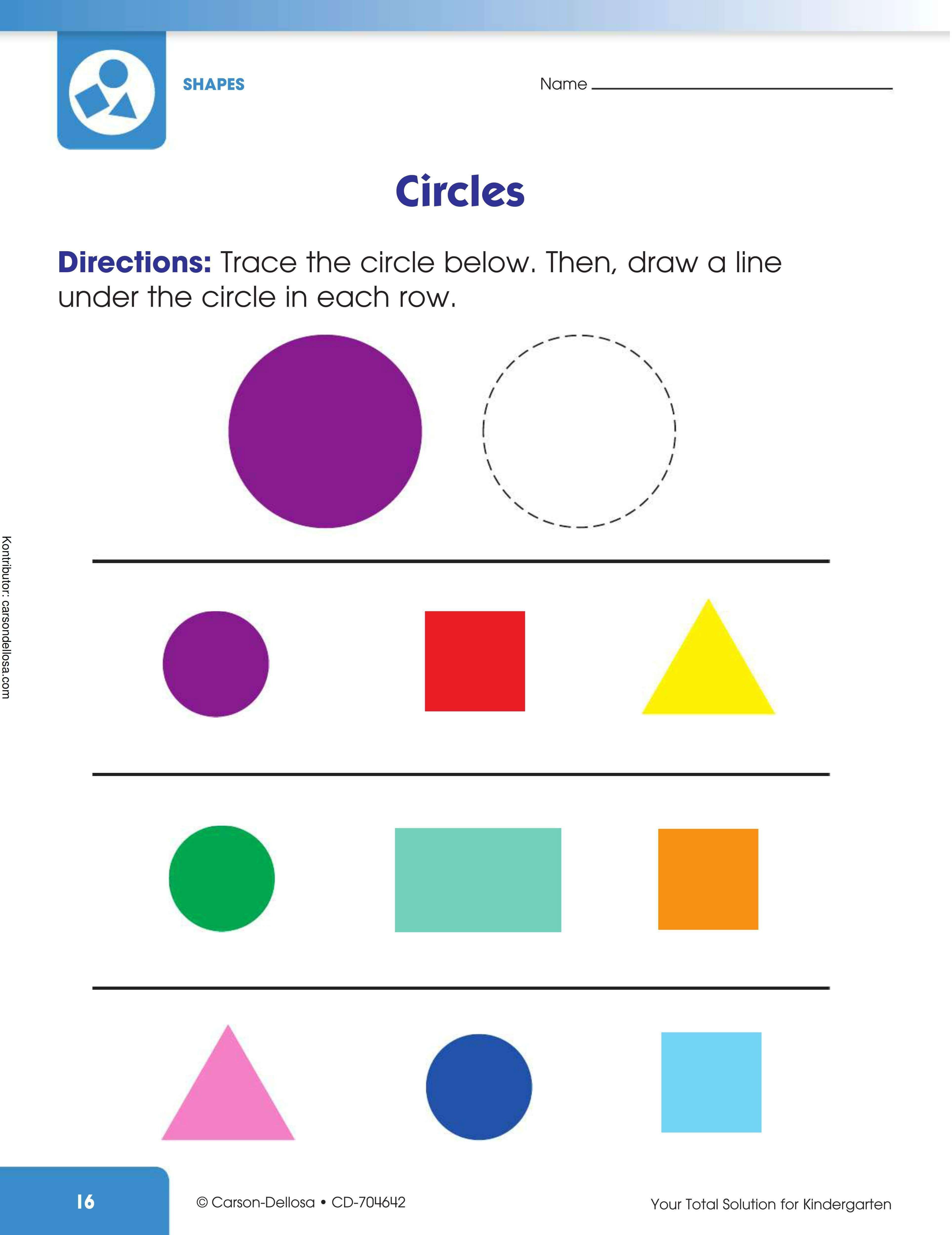 Benda Berbentuk Lingkaran : benda, berbentuk, lingkaran, Ebookanak