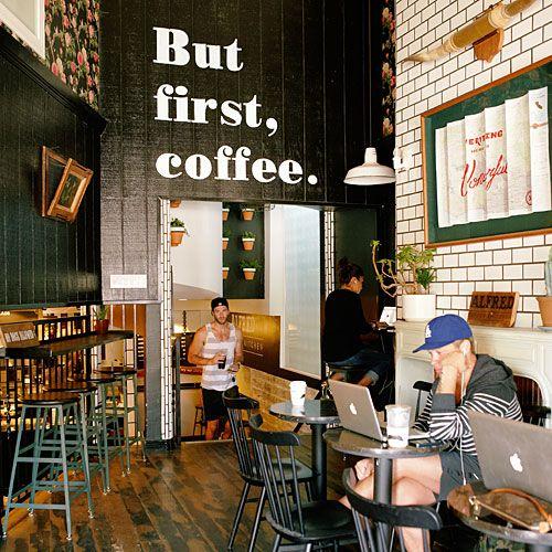 Alfred Coffee amp Kitchen La La Land Coffee Coffee Shop