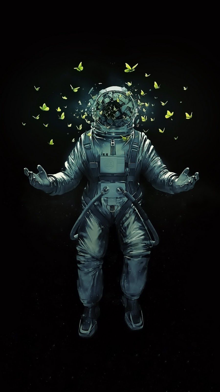 36 Amazing Artistic Wallpapers Android Ddwallpaper Astronaut Art Astronaut Wallpaper Art