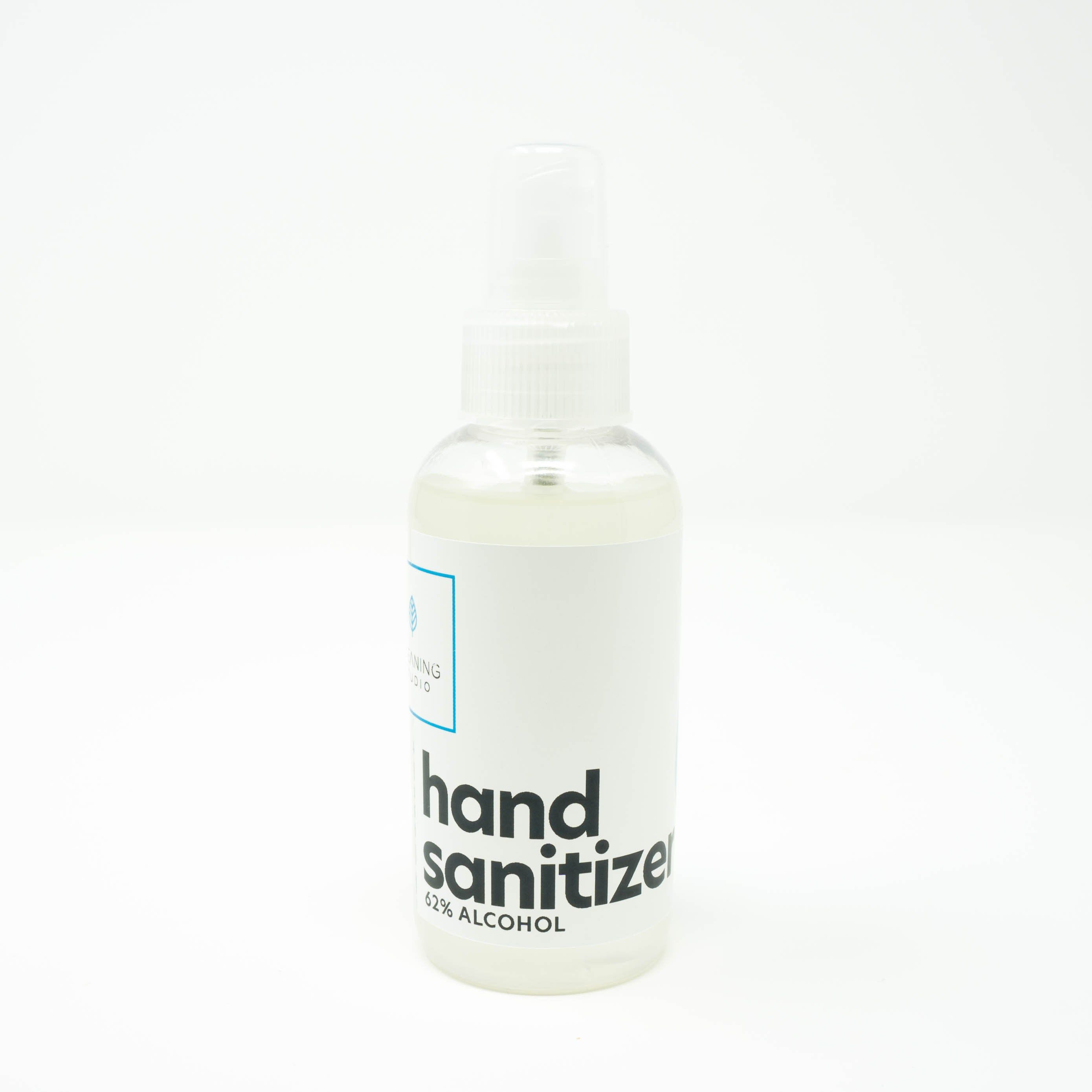 This 4oz Hand Sanitizer Spray Squeeze Bottle Allows You To Refill