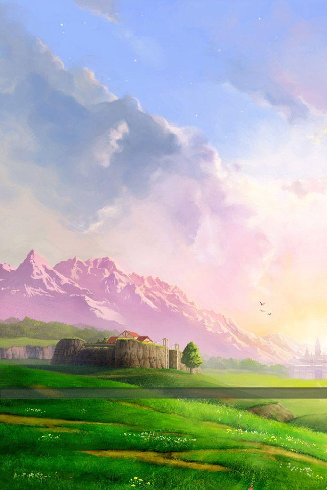 Ocarina Of Time Ocarina Of Times Legend Of Zelda Breath Ocarina of time iphone wallpaper
