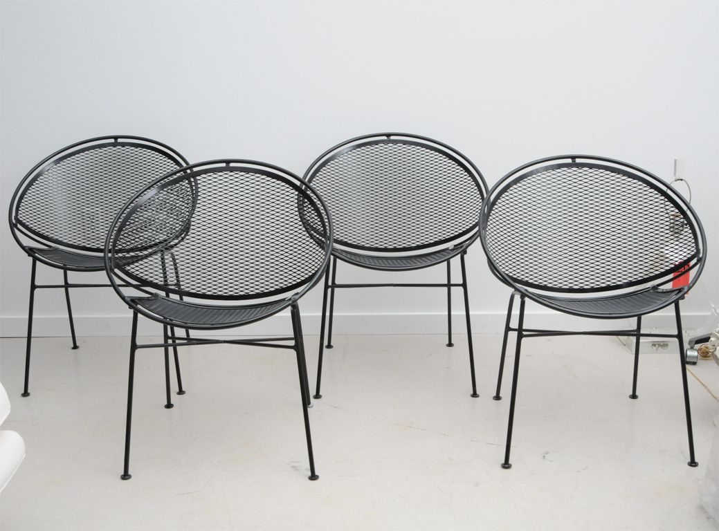 I Am On A Search To Find Vintage Salterini Wrought Iron Patio Chairs On Craigslist Or High Back Dining Chairs Glider Rocking Chair Wrought Iron Patio Chairs